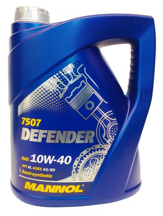 Mannol Defender Motoröl 10W-40 5L